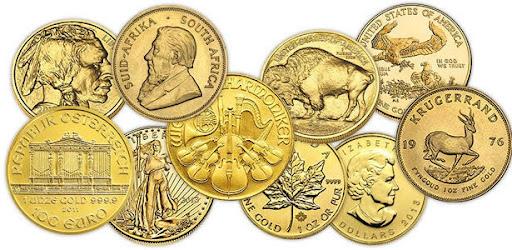 Инвестиционные монеты в обращении