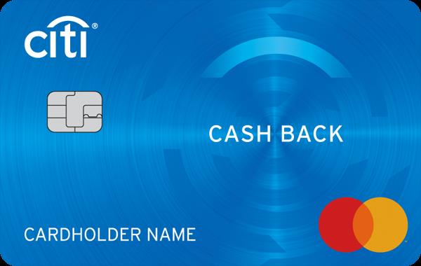 Кредитная карта «Cash Back» от Citibank
