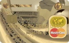 Карта «Газпромбанк – ФК «Зенит» Gold Mastercard   Газпромбанк