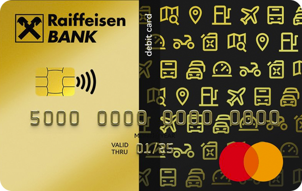 Карта «Gold Mastercard» от Райффайзенбанка