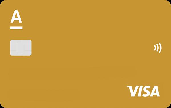 Кредитная карта «100 дней без процентов» Visa Gold от Альфа-банка