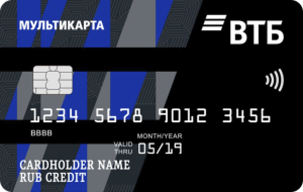 ВТБ - Дебетовая карта