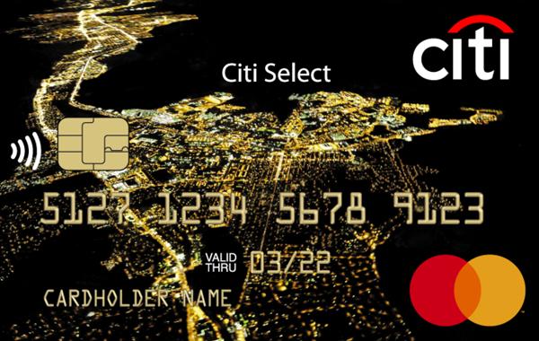 Кредитная карта «Citi Select» от Citibank