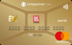 Карта «ЛУКОЙЛ Золотая»   Банк Открытие