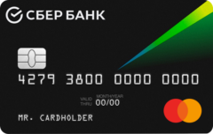 Карта «СберКарта» MasterCard Standard | Сбербанк